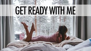 GET READY WITH ME - LAZY MORNING | lamakeupebella