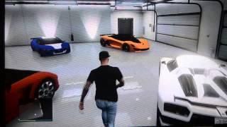 GTA V Online - Garage Voiture de Luxe !