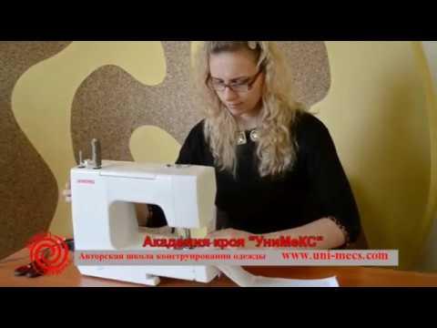 Английский воротник из тонкой ткани - особенности пошива