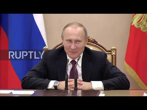 Russia: Putin jokes about media speculation surrounding teleportation plans