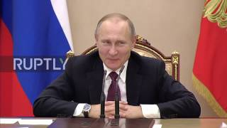 Russia  Putin jokes about media speculation surrounding teleportation plans