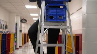 How to Hang PVC and Magnetic Signs from a Standard Ceiling Grid System by RoomTagz™