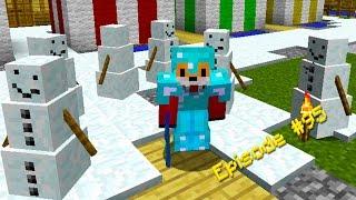 Minecraft Survival - SNOW GOLEMS - Foxy's Survival World [95]