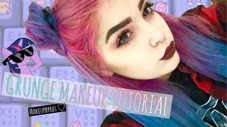 GRUNGE MAKEUP + SPACE BUNS TUTORIAL | MakeupbyRos ♡