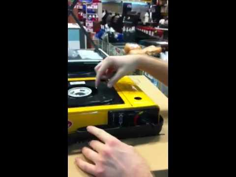 מיוחדים כירת גז ניידת - YouTube PC-84