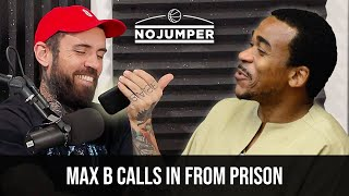 Max B Prison Interview! Sentence Reduced from 75 Years to 12, Kim K, French Montana & More