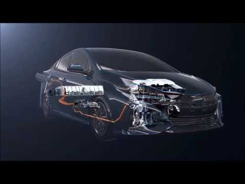 how to hybryd system work at toyota prius prime 2017