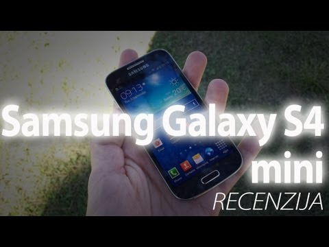 Samsung Galaxy S4 mini video recenzija