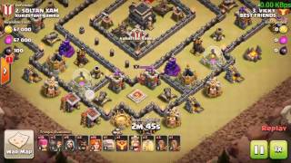 Clash of Clans Attack Strategy HD for Townhall Levels 9
