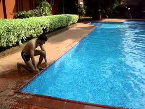 how to dive into a shallow swimming pool youtube