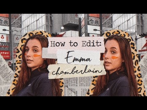 How to Edit like Emma Chamberlain (Face Distortion/Intro/SFX/Background Music/Banner)