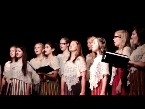 Veljo Tormis: Virmalised (Nothern Light) - Estonian TV Girls Choir, Tallinn, Estonia