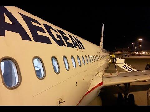 Aegean | Airbus A320 | ZRH-ATH | Business