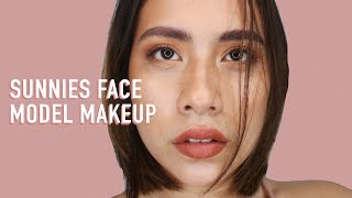 SUNNIES FACE MODEL (INSPIRED MAKEUP) + DUPE | Thats So Nik