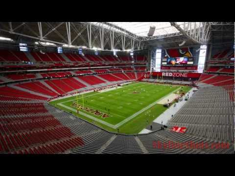 NFL Time Lapse: University of Phoenix Stadium