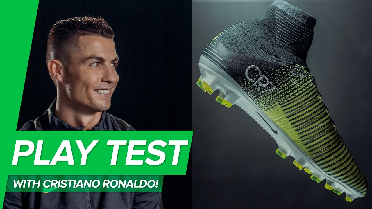 magasin en ligne 1e438 6922b Nike Mercurial Superfly 5 CR7 play test WITH Cristiano Ronaldo! Chapter 3  Discovery