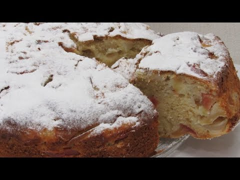 НОВОЕ ТЕСТО ДЛЯ ШАРЛОТКИ! Рецепт яблочного пирога / Вкусный Уголок