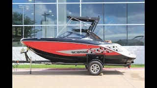 2018 Scarab 195 ID For Sale at MarineMax Dallas