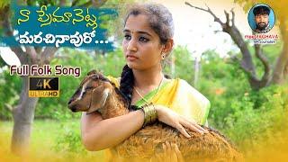 Naa Premanetla Marachinavuro Latest Folk Song || Mamidi Mounika | SVMallikteja | Nipuna| mee Raghava