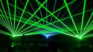 Открытие семинара - лазерное шоу - Казань, 7 мая 2017