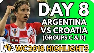 Argentina vs Croatia AND MORE (World Cup 2018 [Group C & D]: Day 8) - Highlights Before They Happen