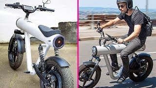 5 TOP 5 AMAZING BICYCLE INVENTIONS 2018