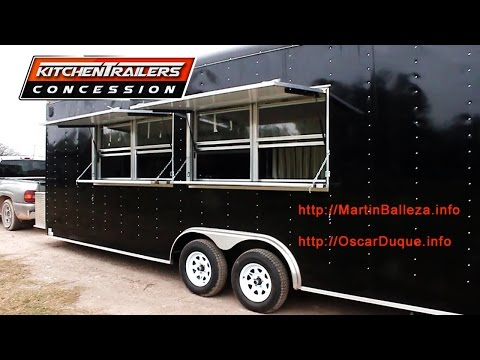 Custom Concession Trailers and Mobile Kitchens Español