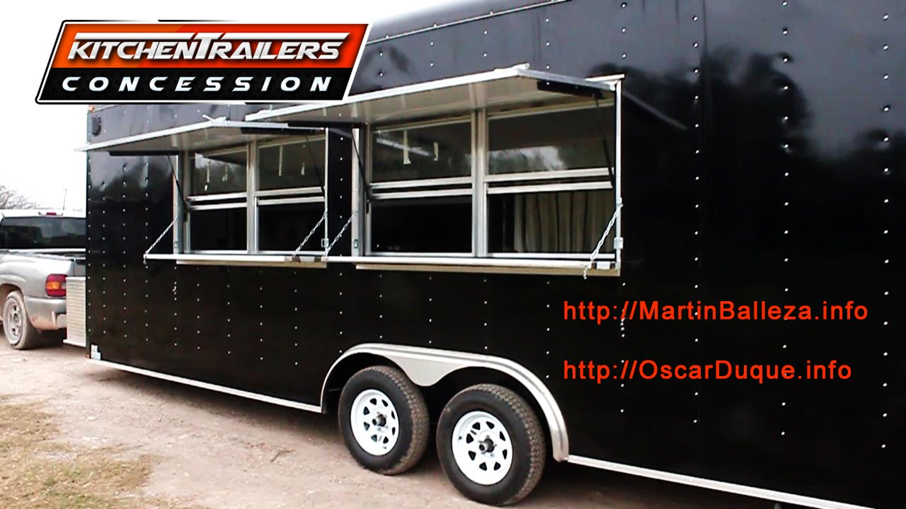 Custom Concession Trailers And Mobile Kitchens Espanol