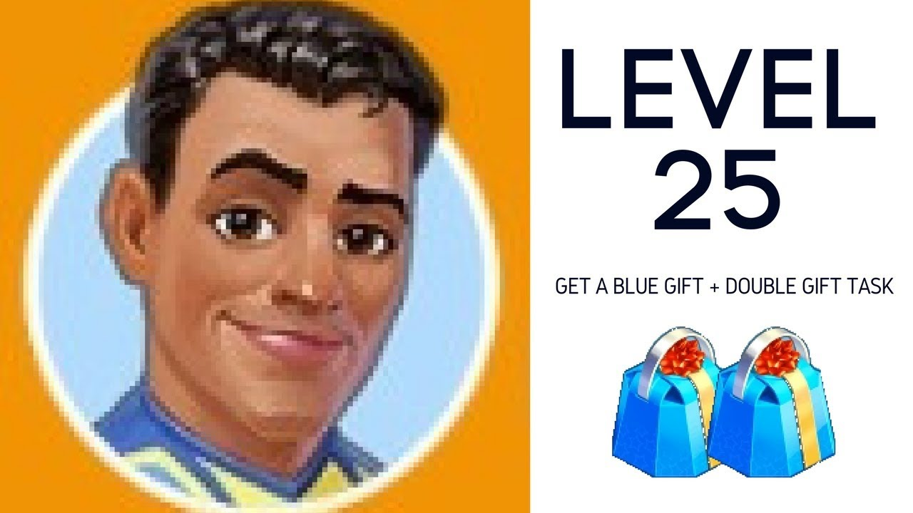 Level 25 Get A Blue Gift From Ron Youtube