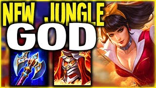AOV: IS THIS THE NEW META? WONDERWOMAN JUNGLE BUILD | Arena of Valor ROV Builds Pro