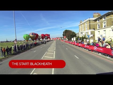 Timelapse: The Virgin Money London Marathon Course