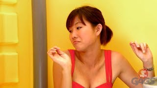 Woman Letting out Massive Farts Prank