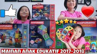 Magformers Mainan Anak Terbaru - Mainan Anak laki-laki dan anak perempuan Edukatif Anak usia 3 tahun