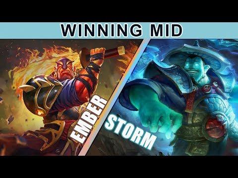 How To Win Mid: Ember Spirit Versus Storm Spirit | Dota 2 Guide