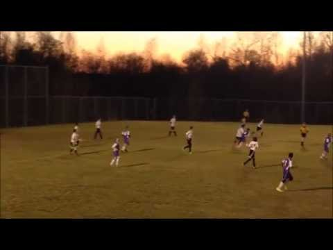 Reidland Middle School soccer game. highlights