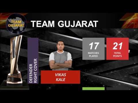 PRO KABADDI 2017 GUJARAT PLAYERS STATS