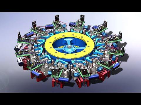 Готовый двигатель на втором магнитном поле Г.В. Николаева