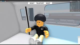 ROBLOX: Subway Testing Remastered, Train Ride from Park to West
