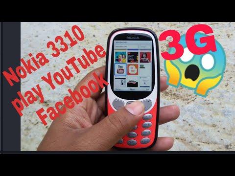 Nokia 3310 3g Play YouTube Facebook 2019