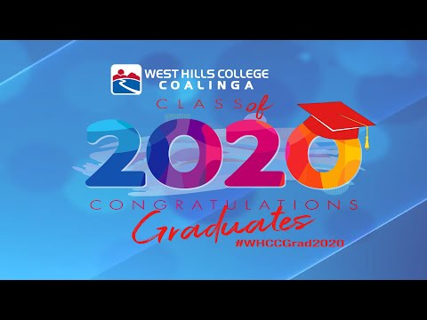West Hills College Coalinga Commencement 2020