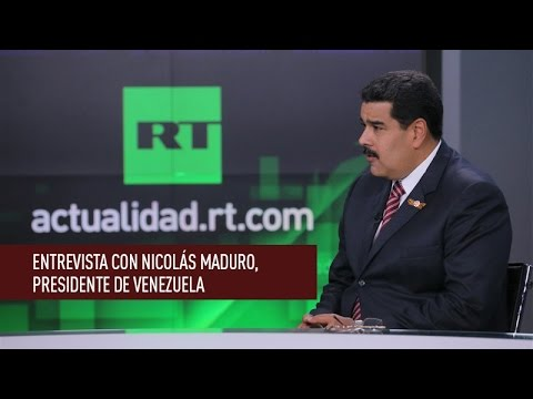 Entrevista en exclusiva con Nicolás Maduro, presidente de Venezuela