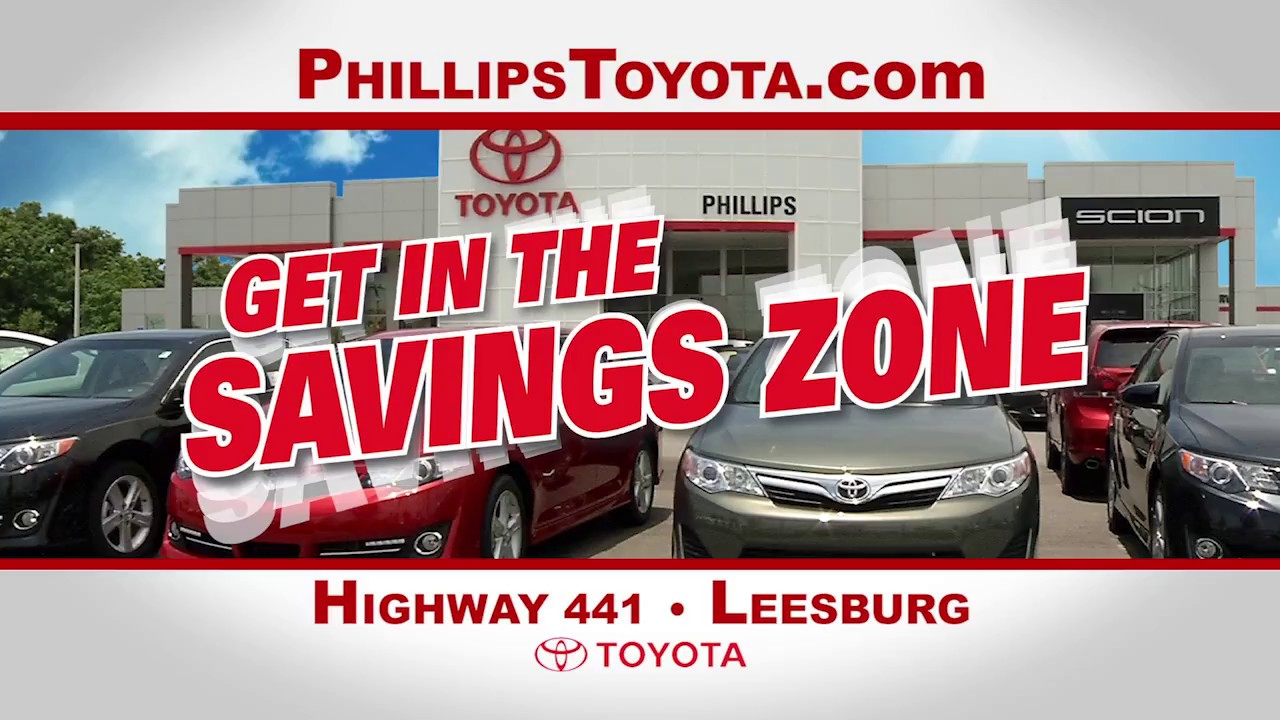 Save On New 2017 Toyotas At Phillips Toyota In Leesburg!