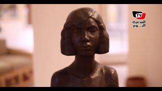 «آدم حنين» عن إحدى تماثيله : «زينب كانت فلاحة فقيرة..أثرت فيا»