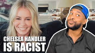 CHELSEA HANDLER SAYS SHE HAS TO REMIND 50 CENT HE IS BLACK