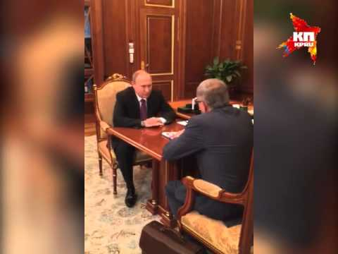 """Путин поздравил «Комсомольскую правду» с юбилеем // Putin congratulated the """"Komsomolskaya Pravda"""""""