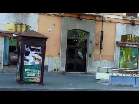 Mallorca Tourist Video and street Map:  Part 6 Palma de Mallorca,  Calle Manacor / Avenidas