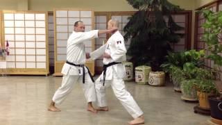 Master Funakoshi's Application: Nijushiho Bunkai by Shihan Marcel Lussier 7th Dan IKD