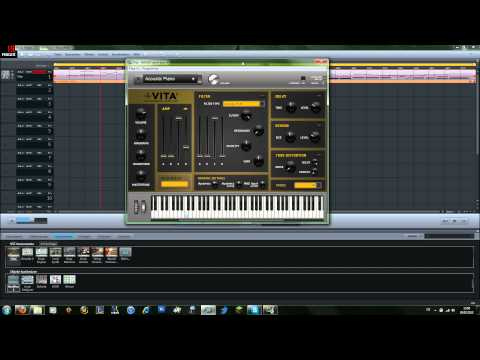 [DE]Magix Music Maker 2013 Premium - MIDI Aufnahme+Vita² Tutorial - Full HD