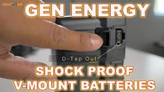 Quick Look - Gen Energy Shock Proof V-Mount Batteries