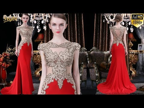 Beautiful Stylish Red Prom and Party Dress and Gown Designs for 2020 (Valentine Showcase Special)